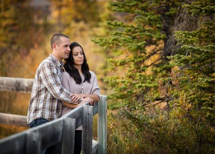 Kevin & Ashley – Canmore Engagement Photographer